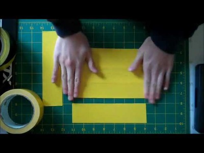 How to make a duct tape wallet (bi fold)
