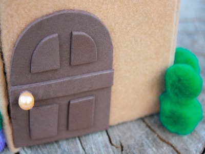 How to Make a Mini Dollhouse. Doghouse for Lalaloopsy and LPS