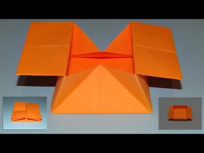 How To Make An Origami Pop Out Envelope - Box 02