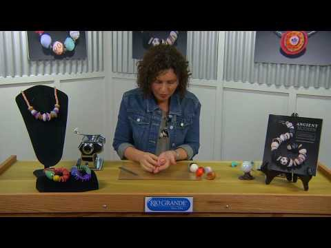 How to Make Polymer Clay Beads with Ronna Sarvas Weltman