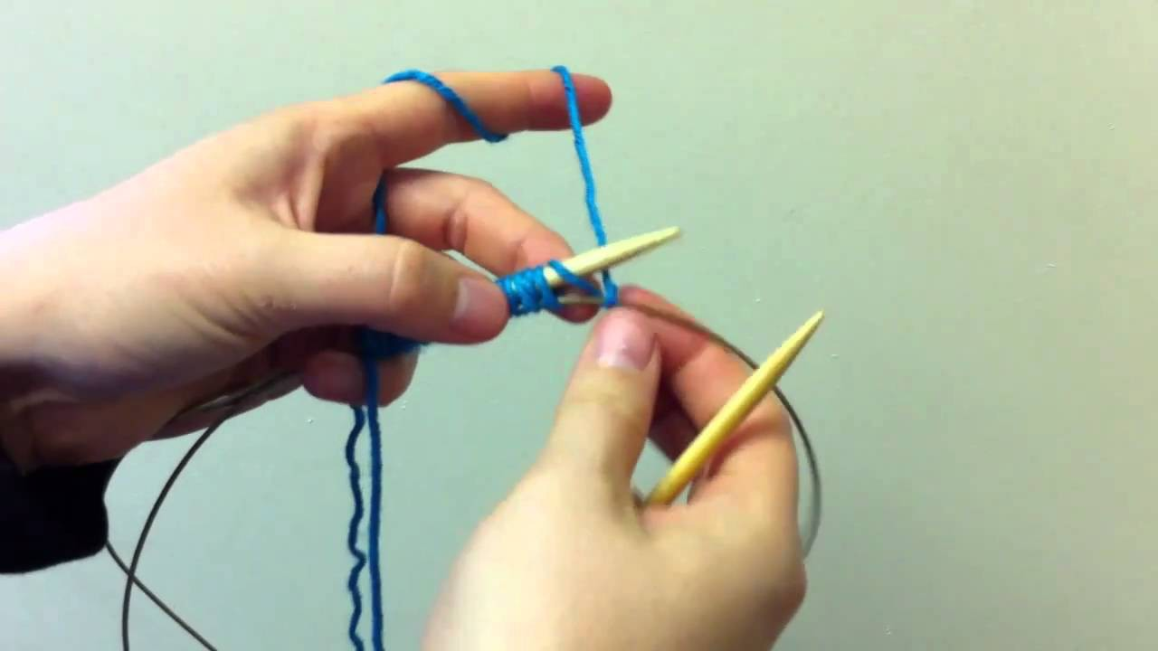 How to: Provisional Cast On for Knitting