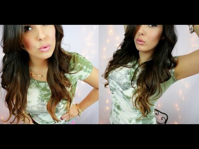 How To Sombre Soft Ombre Hair ** EASY DIY **