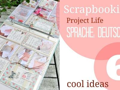Ideen für Scrapbooking und Project Life