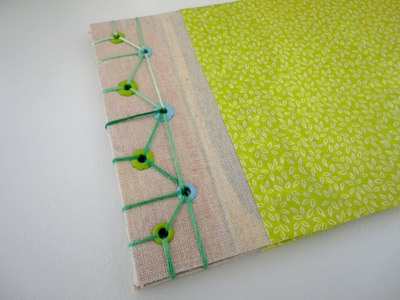"Japanese Bookbinding Tutorial (How to make ""Asa-no-ha Toji"")"