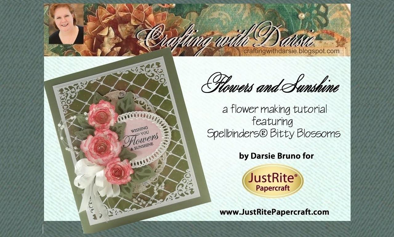 JustRite Papercraft Flowers and Sunshine by Darsie Bruno