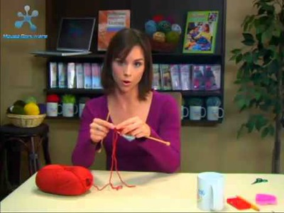 Knitting Tutorial for Beginners  2  Knit Stitch, Bind Off in Knit Stitch