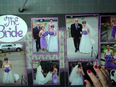Let's Get Crafty Episode #  56 Wedding Wednesday Layout The Bride