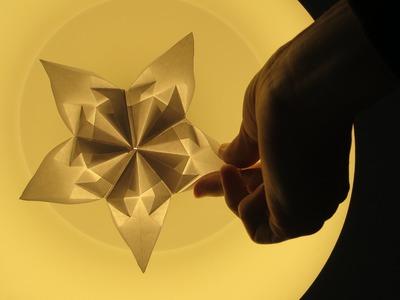 Origami - modular - kite star - tutorial - dutchpapergirl