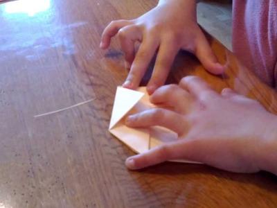 Origami : Tuto du coeur
