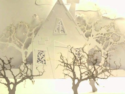 Paper stop motion animation