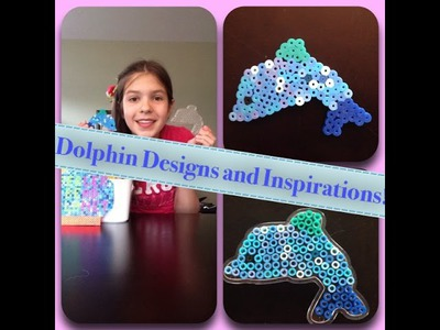 Perler Bead Dolphin Pegboard Designs and Inspiration!