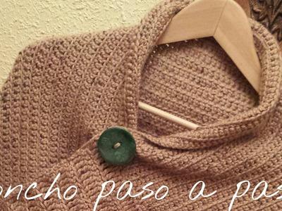 Poncho to crochet step -by - step