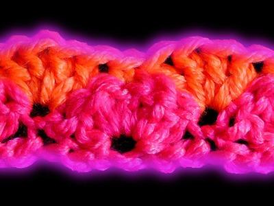 Shell stitch crochet pattern