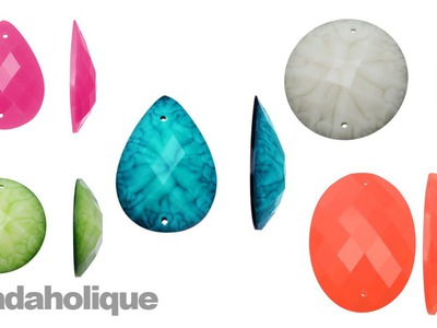 Show & Tell: Linkable Resin Cabochons