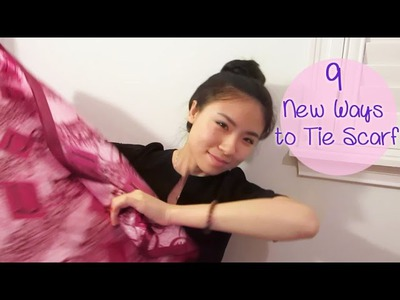 [Sunny DIY] 9 New Ways to Tie Scarf- Relationship Edition