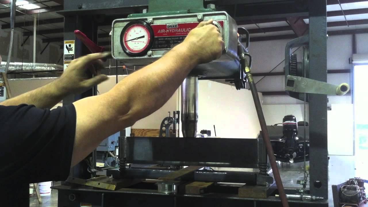 SWAG off Road DIY Press Brake part 2