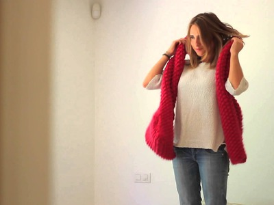 WE ARE KNITTERS - Cucho Scarf kit