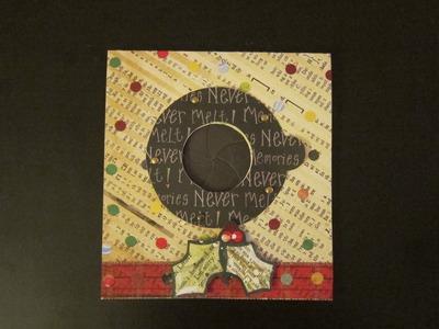 1 min Tutorial-Mechanical Iris Greeting Card