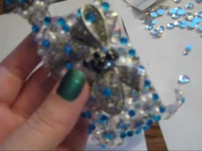 3D BLING CELL PHONE CASE DECORATING FROM SHINEWIN