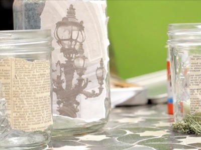 Candle Jar - Let's Craft with ModernMom