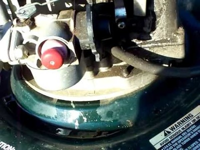 Carburetor cleaning on a Craftsman 6.25 horse Lawn mower