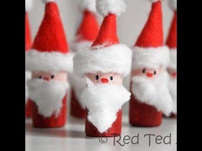 Christmas Crafts - Homemade Christmas Decorations