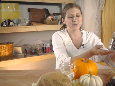 Country Fall Decorations : Fall Crafts