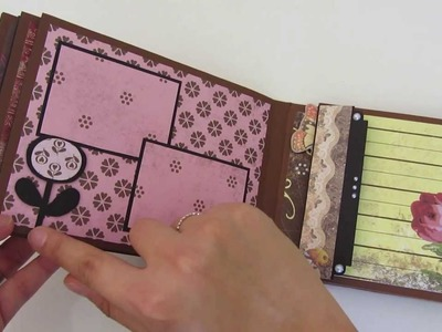 "Craft Update #09 - Mini-Album ""Kitschiges Vintage"""
