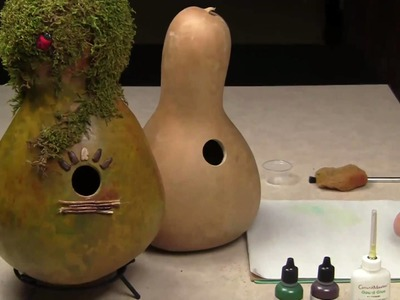 Creating A Gourd Birdhouse (Part 1) - Gourd Crafting Secrets Revealed