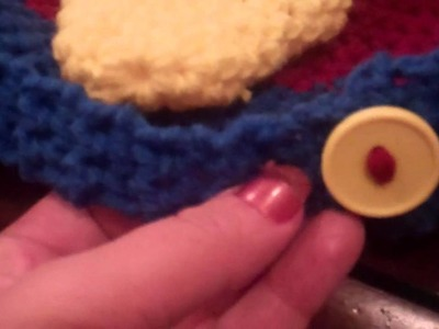 Crochet Angry Bird with earflaps