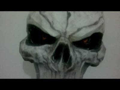 Darksiders II Death Mask Papercraft