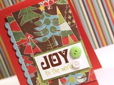 Day 11 - Holiday Card Series - Joy to the World