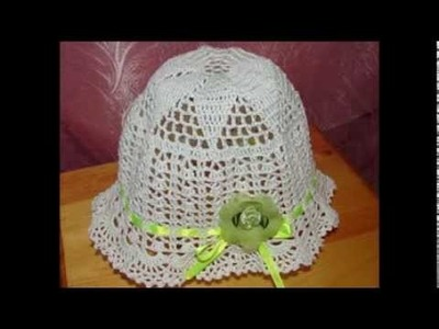 Детские шляпы крючком Crocheted baby hats Մանկական