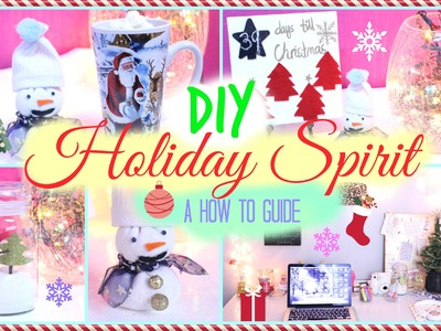 ❄ DIY EASY Holiday Room Decor : Get in the Holiday Spirit ❄ | Dormspiration