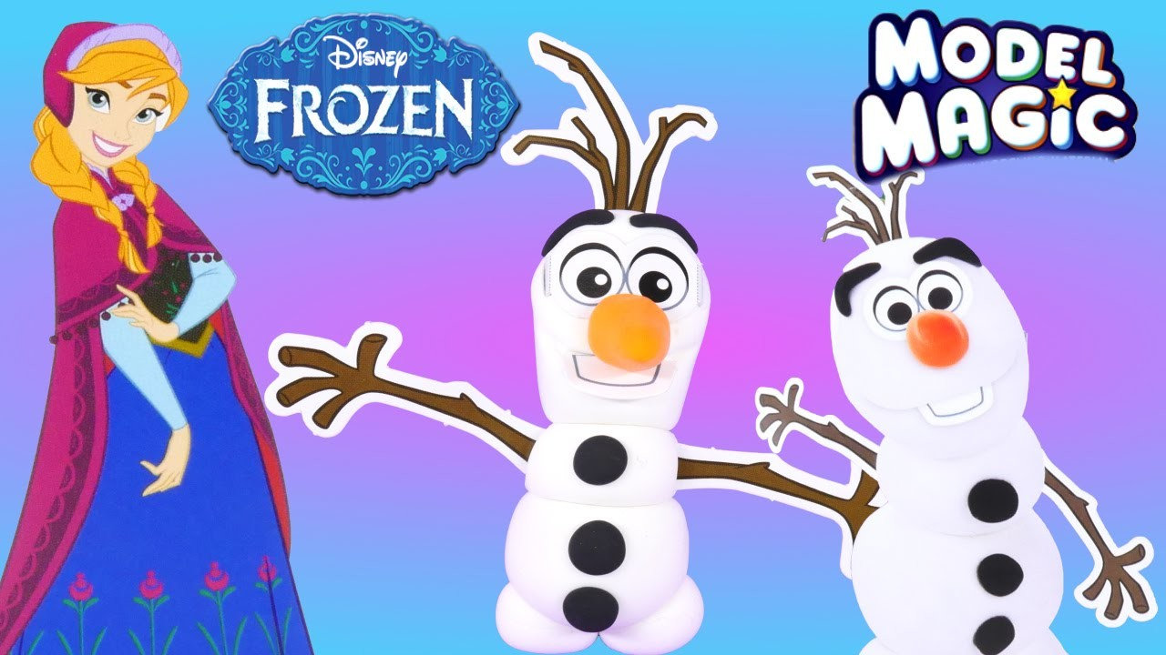 Do You Want to Build a Snowman? Disney Frozen Crayola Model Magic Olaf Craft Kit by DCTC