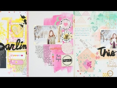 Don't Think About It, Just Do It : Scrapbook Process by Wilna