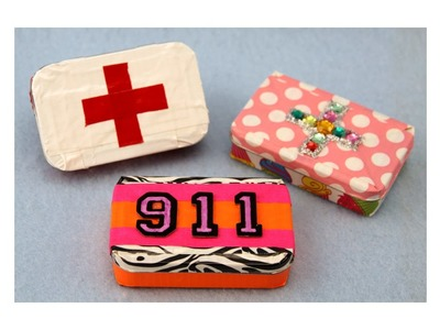 Duct Tape and Altoid Tin First Aid Kit|sophie-world.com
