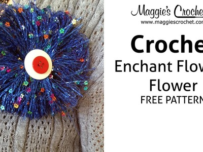 Enchant Flowers Flower Free Crochet Pattern - Right Handed