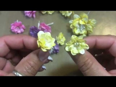 "Flower Tutorial! April ""Build-a-Flower"" challenge with Jules for WOC!!"