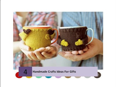 Handmade Crafts Ideas For Gifts