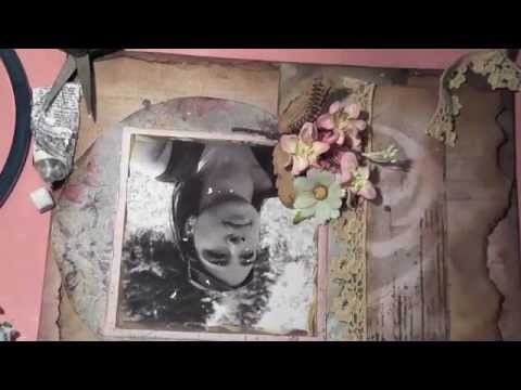 How To create a Vintage.Grunge Layout tutorial