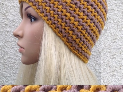 How to Crochet a Hat Pattern #8 │by ThePatterfamily