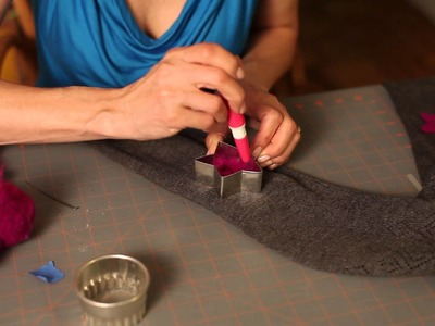 How to Felt a Sweater With Elbow Pads : DIY Crafts