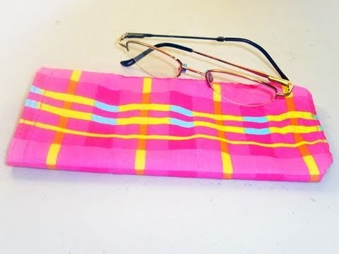 How to make a bag for glasses - EP