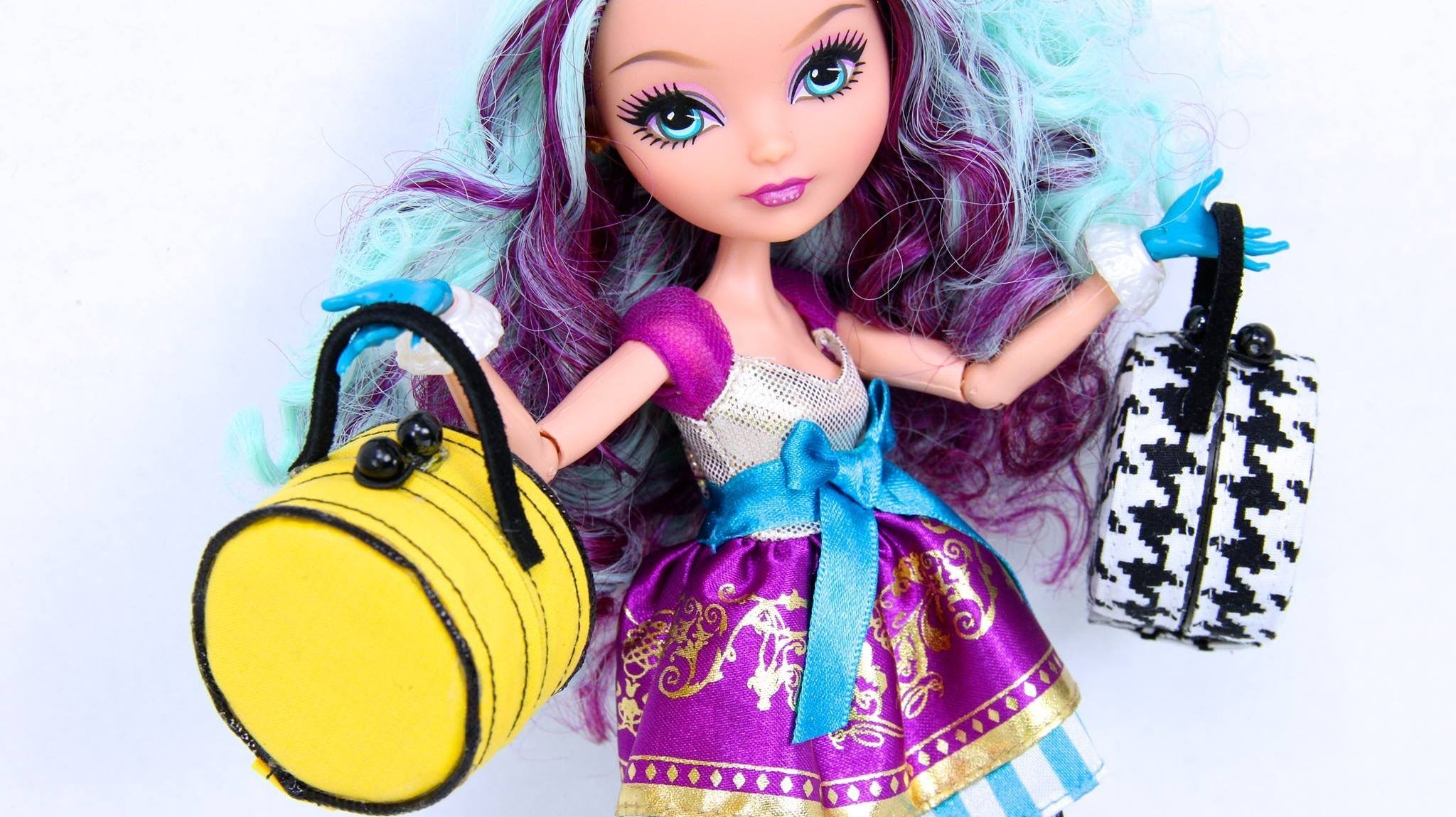 How to Make a Doll Hat Box Purse
