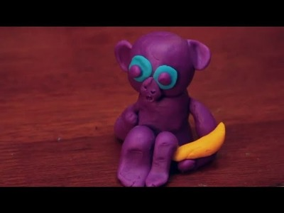 How to Make a Spider Monkey Out of Play-Doh : Sculpting Crafts & More