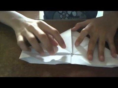 How to make an Origami Paper Puppet