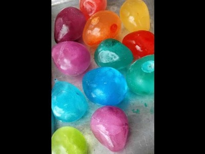 Ice Balloons For Outdoors ( Easy craft )