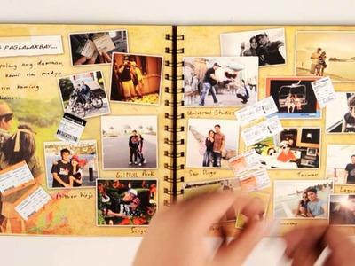 Jolina & Mark Wedding Invitation - Scrapbook Stop Motion