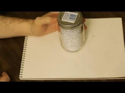 Kid's Craft With a Mason Jar : Art & Drawing Tips